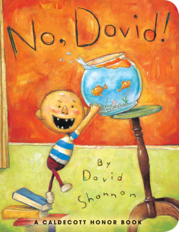 No, David! (Board Book)