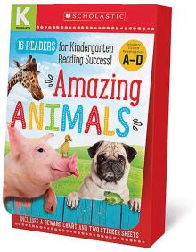 Kindergarten A-D Reader Box Set: Amazing Animals