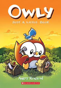 Just a Little Blue (Owly #2)