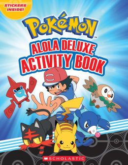 Pokemon: Alola Deluxe Activity Book