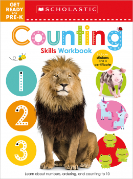 Scholastic Early Learners: Get Ready for Pre-K Skills Workbook: 123