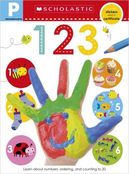 Scholastic Early Learners: Pre-K Skills Workbook: 123