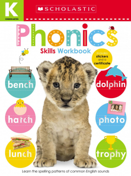 Scholastic Early Learners: Kindergarten Skills Workbook: Phonics