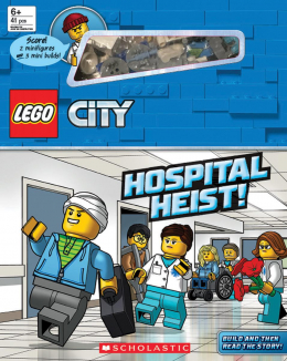 Hospital Heist! (LEGO City: Storybook with minifigures and minibuilds)