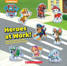 Paw Patrol: Heroes At Work Countdown Book