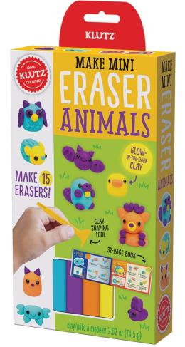 Mini Erasers: Animal Camp
