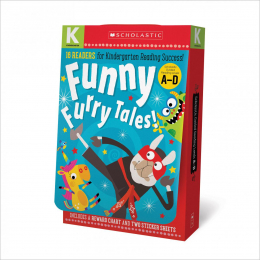 Scholastic Early Learners: Kindergarten A-D Reader Box Set: Funny Furry Tales