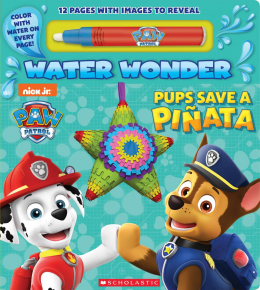 Paw Patrol: Water Wonder Write-On Book with Pen