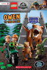 Owen to the Rescue (LEGO Jurassic World: Reader with Stickers)
