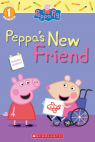 Peppa's New Friend (Peppa Pig Level 1 Reader with Stickers)