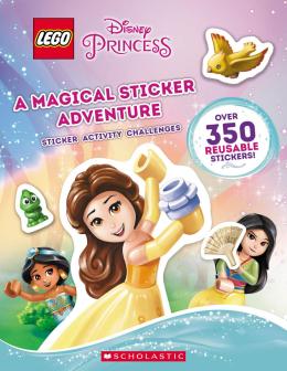 A Magical Sticker Adventure  (LEGO Disney Princess: Sticker Activity Book)