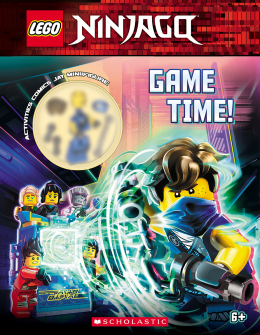 Game Time! (LEGO Ninjago: Activity Book with Minifigure)