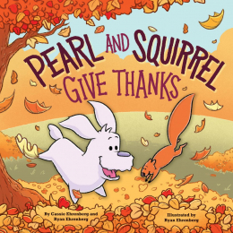Pearl and Squirrel Give Thanks