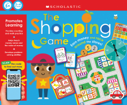 The Shopping Game: Scholastic Early Learners (Learning Game)