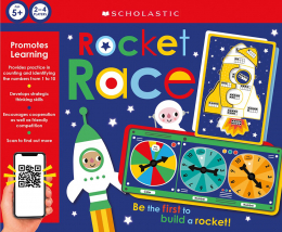 Rocket Race: Scholastic Early Learners (Learning Games)