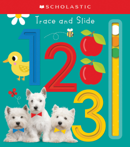 Trace and Slide 123: Scholastic Early Learners (Trace and Slide)