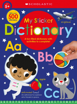 My Sticker Dictionary: Scholastic Early Learners (Sticker Book)