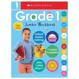 First Grade Jumbo Workbook: Scholastic Early Learners (Jumbo Workbook)