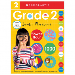 Second Grade Jumbo Workbook: Scholastic Early Learners (Jumbo Workbook)