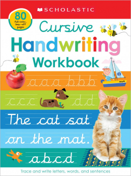 Cursive Practice Learning Pad: Scholastic Early Learners (Learning Pad)