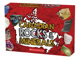 Deluxe Canadian Rocks & Minerals Kit