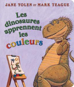 Les dinosaures apprennent les couleurs