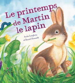 Les saisons des animaux : Le printemps de Martin le lapin