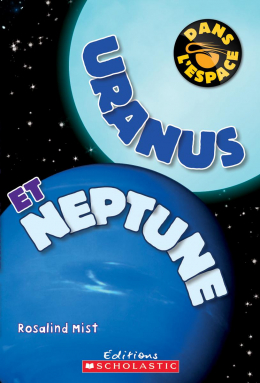 Dans l'espace : Uranus et Neptune