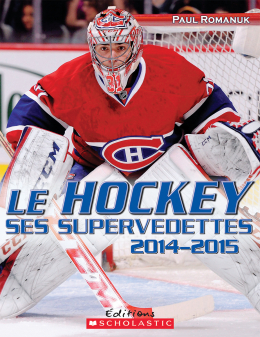 Le hockey : ses supervedettes 2014-2015