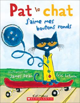 Pat le chat : J'aime mes boutons ronds