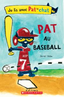 Je lis avec Pat le chat : Pat au baseball