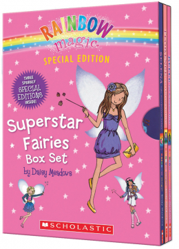 Rainbow Magic Special Edition: Superstar Fairies Box Set