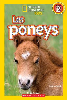 National Geographic Kids : Les poneys (niveau 2)