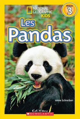 National Geographic Kids : Les pandas (niveau 3)