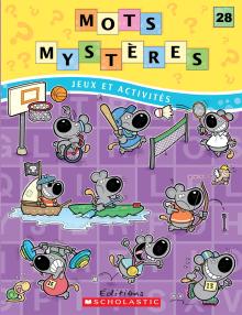 Mots mystères n° 28