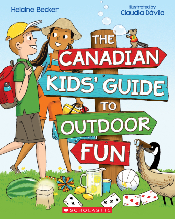 The Canadian Kids' Guide to Outdoor Fun cover image