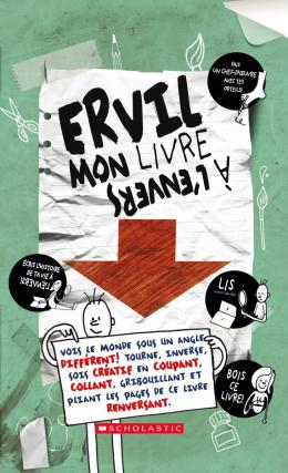 Ervil :   Mon livre à l'envers