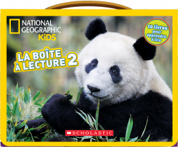 National Geographic Kids : La boîte à lecture 2