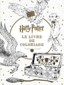 éditions Scholastic Harry Potter Le Livre De Coloriage N 1
