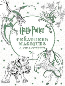 Harry Potter - Le livre de coloriage : N° 2 - Créatures magiques à colorier