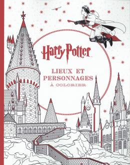 Harry Potter - Le livre de coloriage : N° 3 - Lieux et personnages à colorier