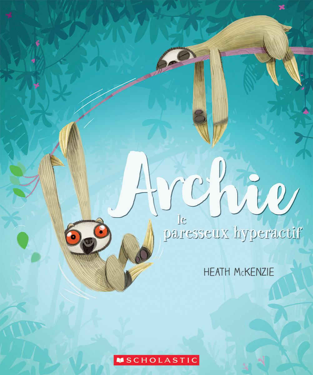 Image result for archie le paresseux hyperactif