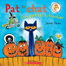 Pat le chat : Cinq petites citrouilles