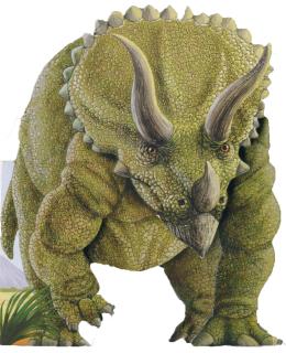 Je suis un tricératops