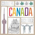 Colour Me Canada / Canada à colorier