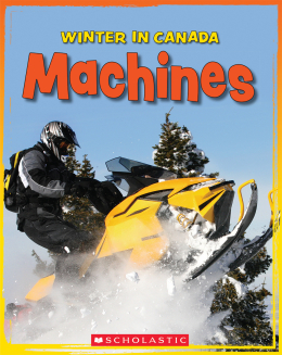 Winter in Canada: Machines