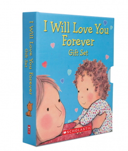 scholastic canada i will love you forever gift set