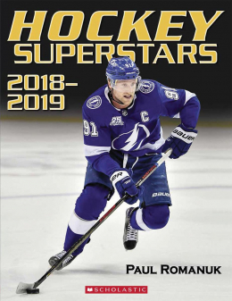 Scholastic Canada | Hockey Superstars: 2018-2019