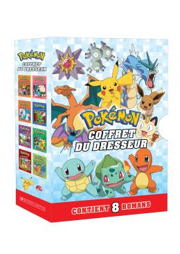 Coffret Pokémon - 8 romans