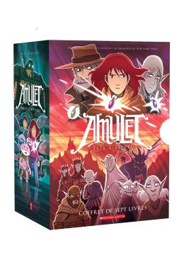 Coffret Amulet - tomes 1 à 7